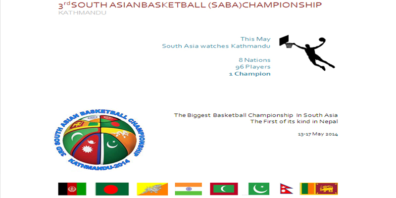 3rd SOUTH ASIAN BASKETBALL (SABA) CHAMPIONSHIP
