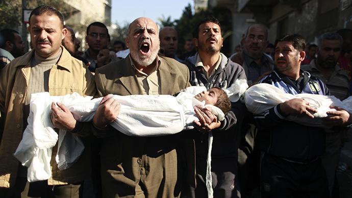 Concern over death of Palestinian children