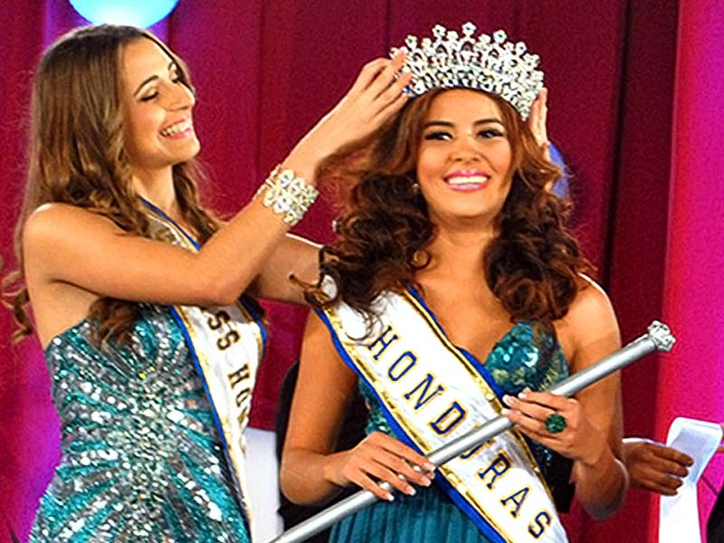 Miss Honduras, sister shot dead by boyfriend