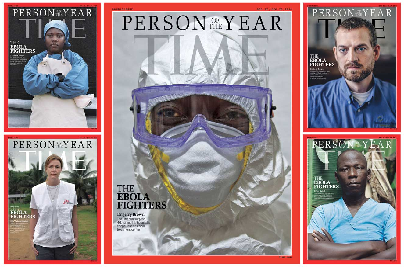 THE EBOLA FIGHTERS