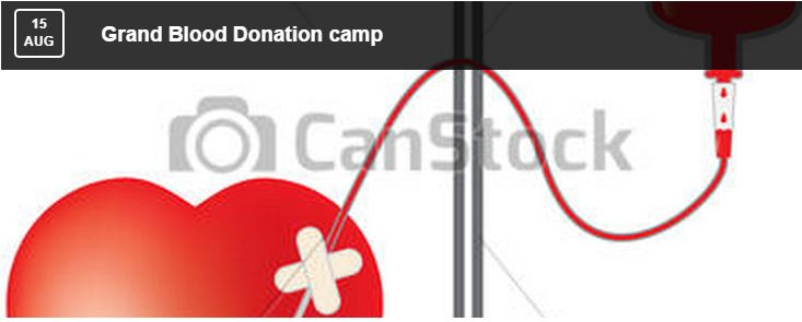 Grand Blood Donation Camp