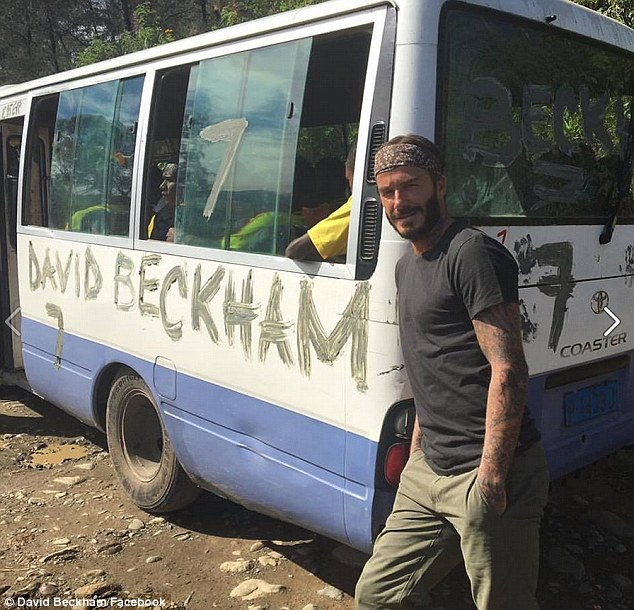 David Beckham in Nepal for UNICEF charity match