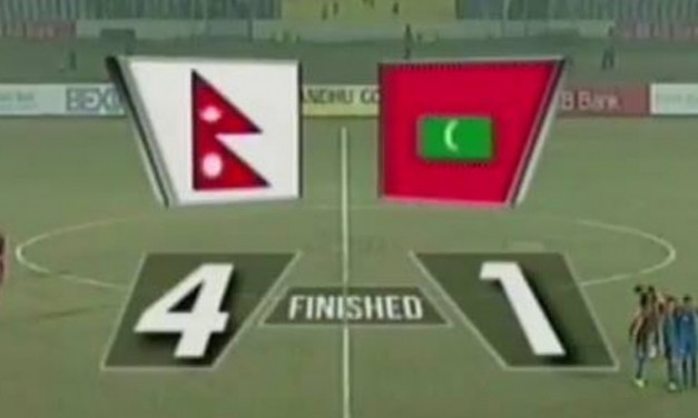 Nepal defeats Maldives 4-1 to enter final of Bangabandhu Gold Cup