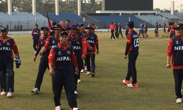 Nepal U19 victorious over New Zealand