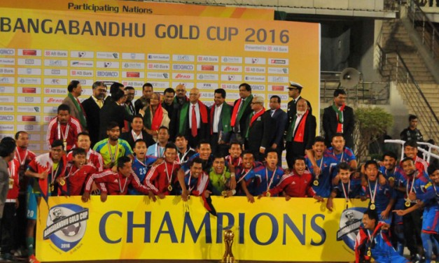 Nepal – The Bangabandhu Gold Cup Victor