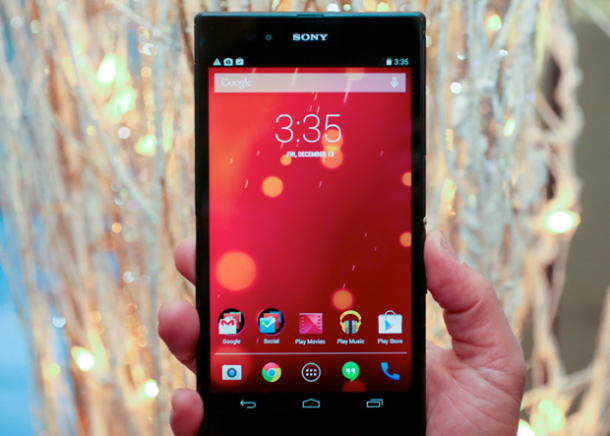 Sony adds option to buy Xperia Z Ultra as a Wi-Fi-only 'tablet'