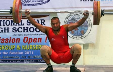 Three national record set in National Weightlifting Championship