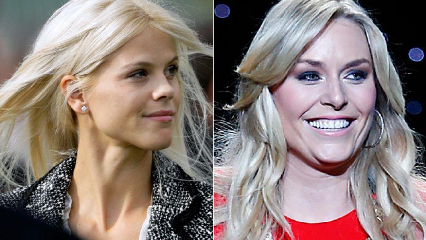 Elin Nordegren, Lindsey Vonn 'talk all the time,' report says