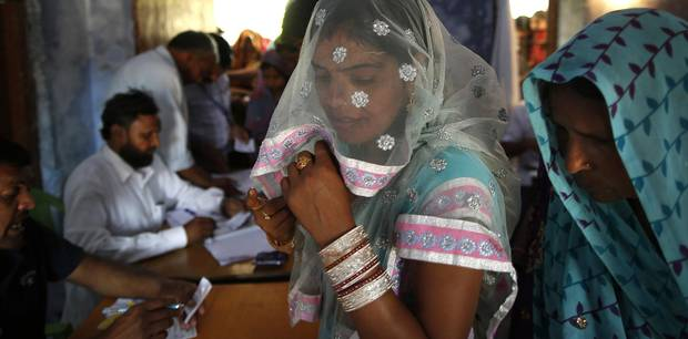 Indian elections: Politician in largest state claims women who have sex outside marriage should be hanged