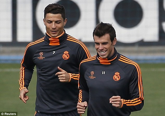 Ronaldo trains, will probable for semi against Bayern