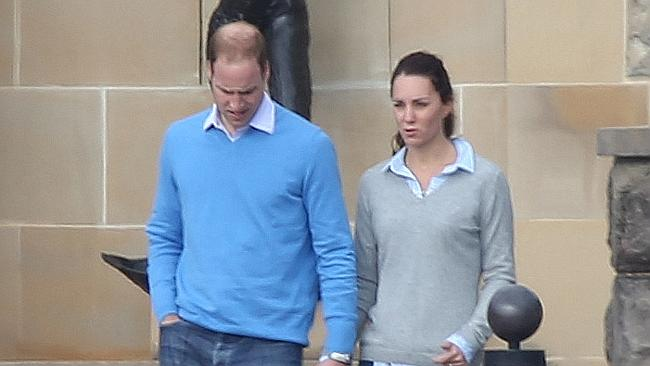 Kensington Palace reportedly upset over candid pictures of Kate, Wills and Prince George on 'rest day' in Canberra