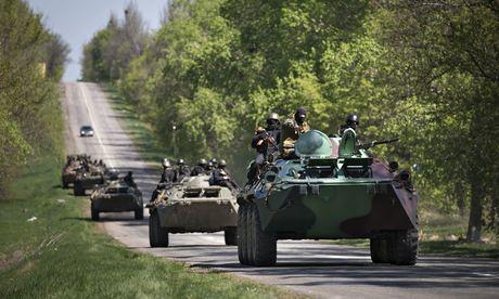 Ukrainian troops launch Slavyansk assault, reports say