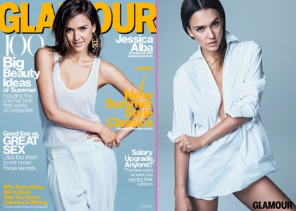 "Jessica Alba Talks No Nudity In Glamour June 2014: ""I Don't Want My Grandparents To See My Boobs"""