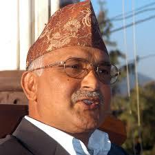 KP Oli elected UML chairman