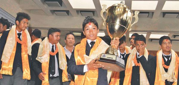 Victorious U-16 cricketers seek Exposure
