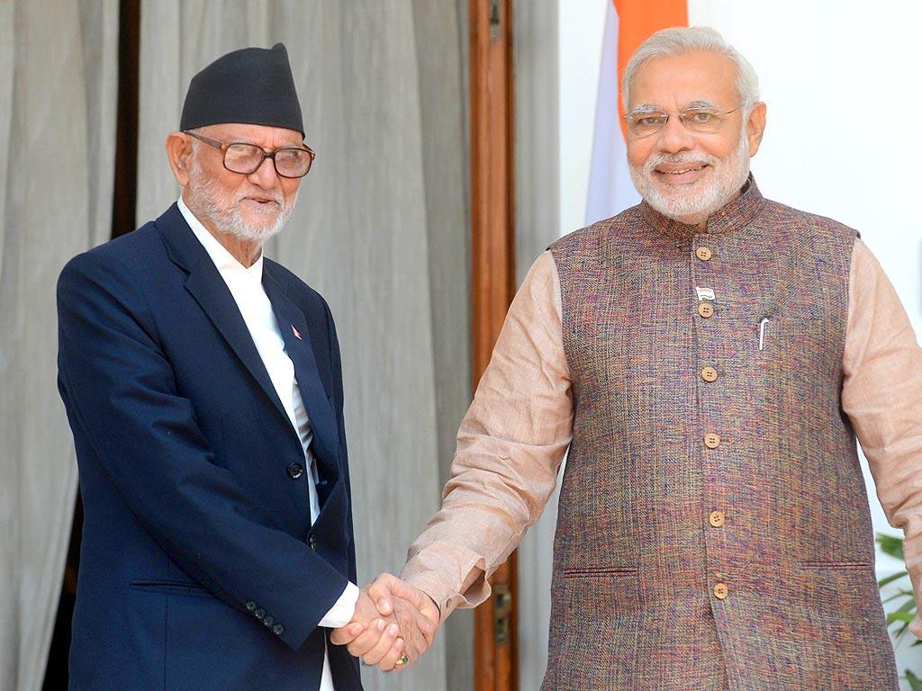 PM Modi arrives in Nepal for 'historic' visit