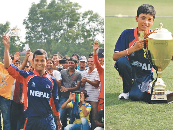 Nepal accomplish mission (U-16 Cricket)