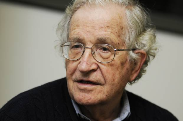 Noam Chomsky: Corporate business models are hurting American universities