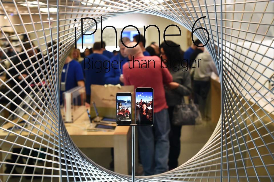 Apple shares soar after posting biggest profits in history