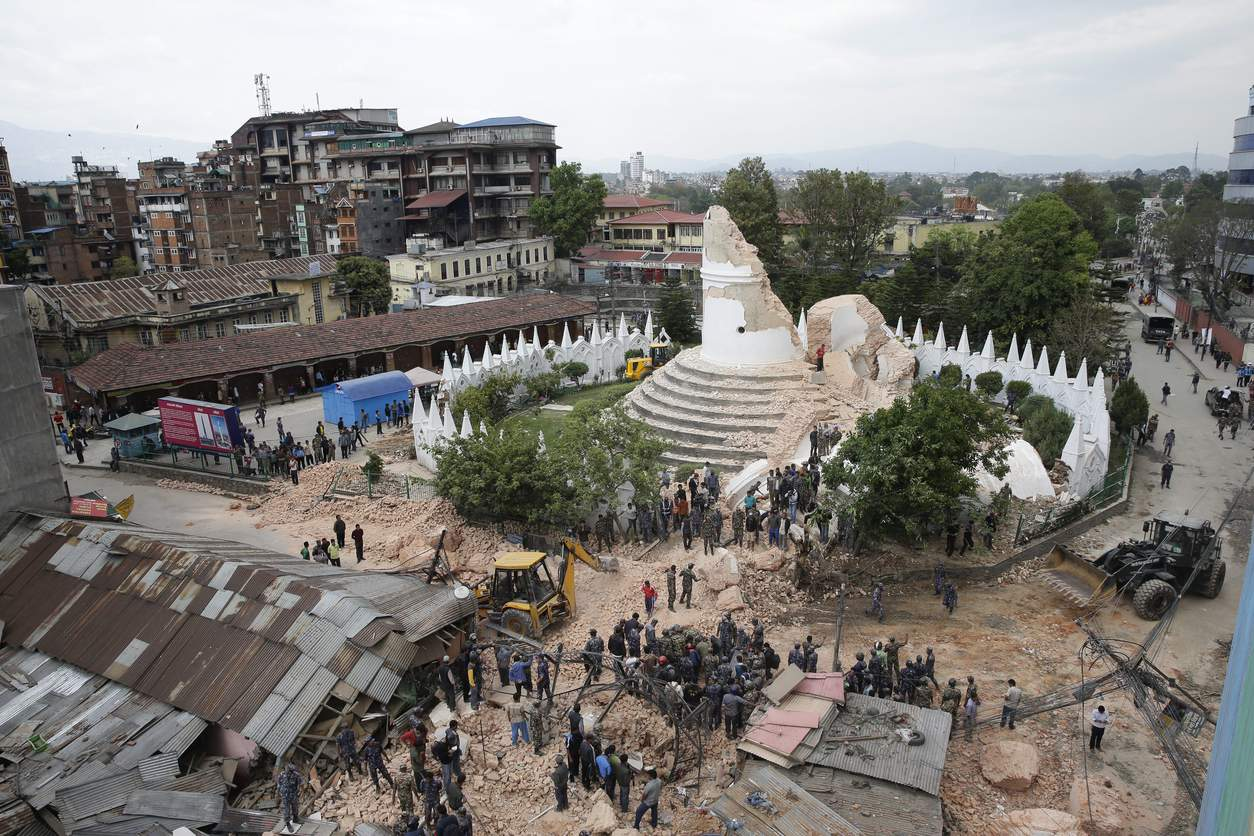 Aftermath – Nepal Earthquake