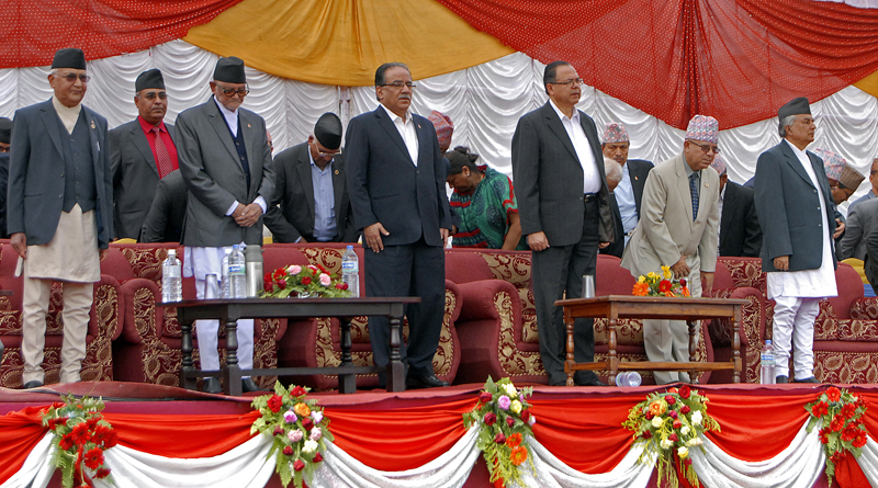 Leaders pledge to implement constitution
