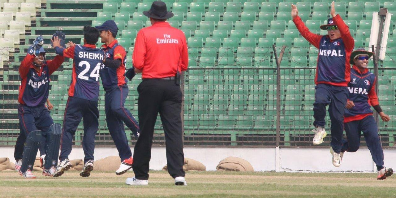 Nepal through to quarters after easy wins