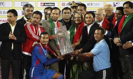 Nepal notches international championship after 23 years